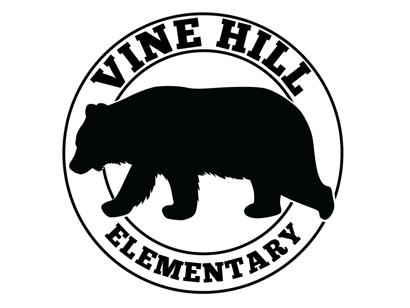 Vine Hill Bear Logo